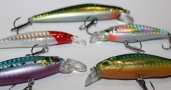 FH SHAD Set 60-90mm (5 Stk.) .