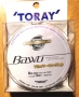* Toray Bawo Super Hard Polyamide Plus 8lb 0.235 /150m/4.0kg